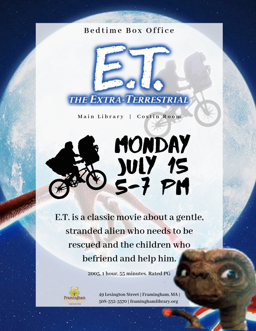 Bedtime Box Office: E.T. The Extra Terrestrial thumbnail Photo