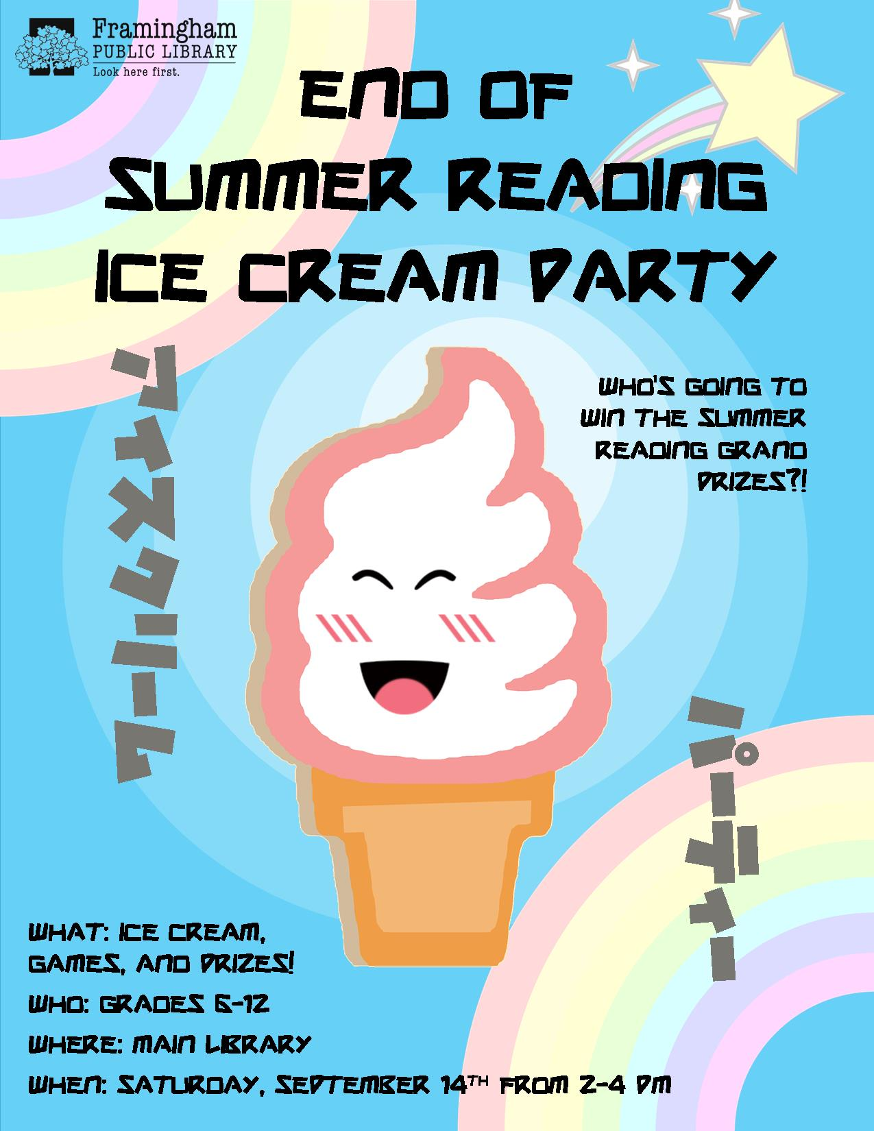 End of Summer Ice Cream Party thumbnail Photo