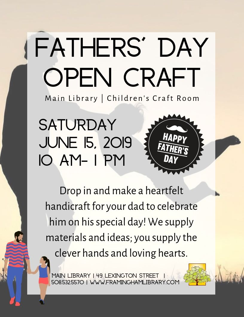 Fathers' Day Open Craft thumbnail Photo