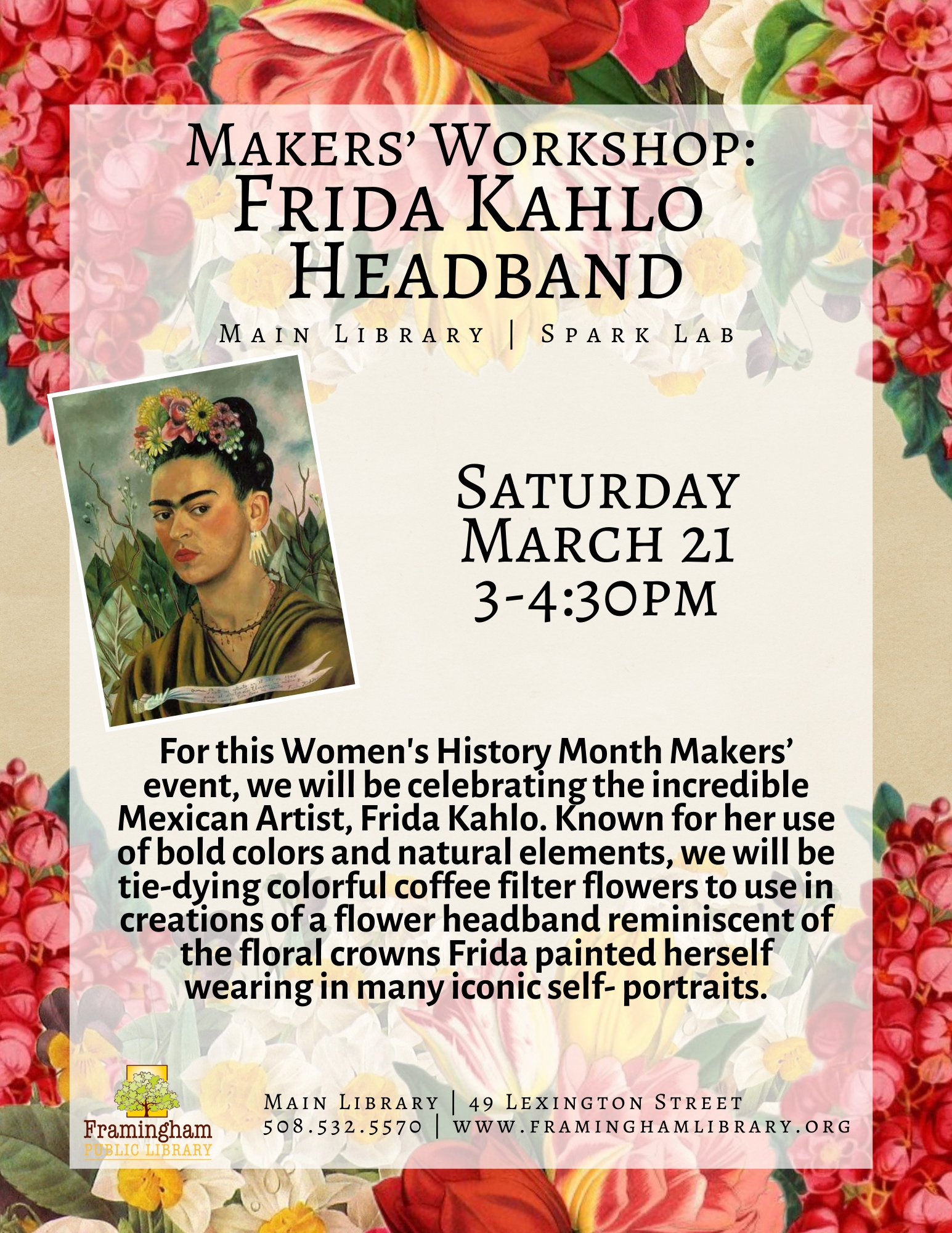 Makers' Workshop: Frida Kahlo Headband thumbnail Photo
