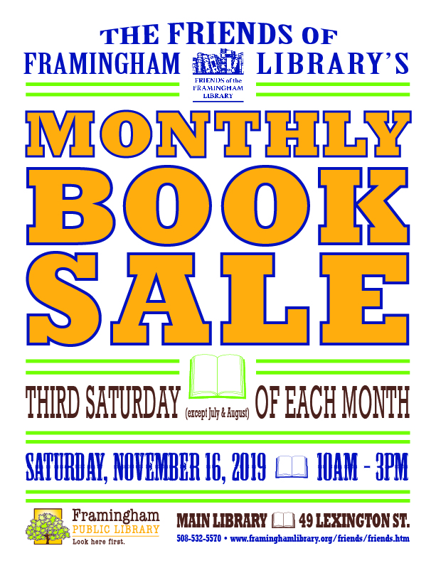 Friends Monthly Book Sale thumbnail Photo