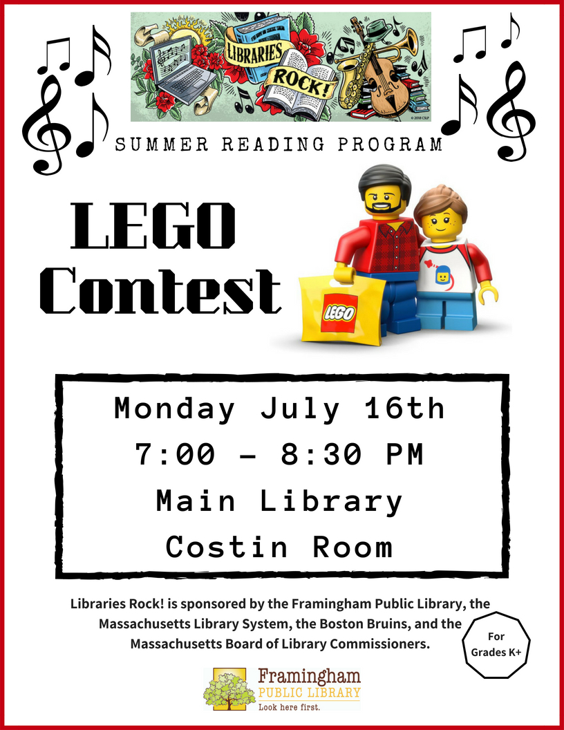 LEGO Contest at Main Library thumbnail Photo