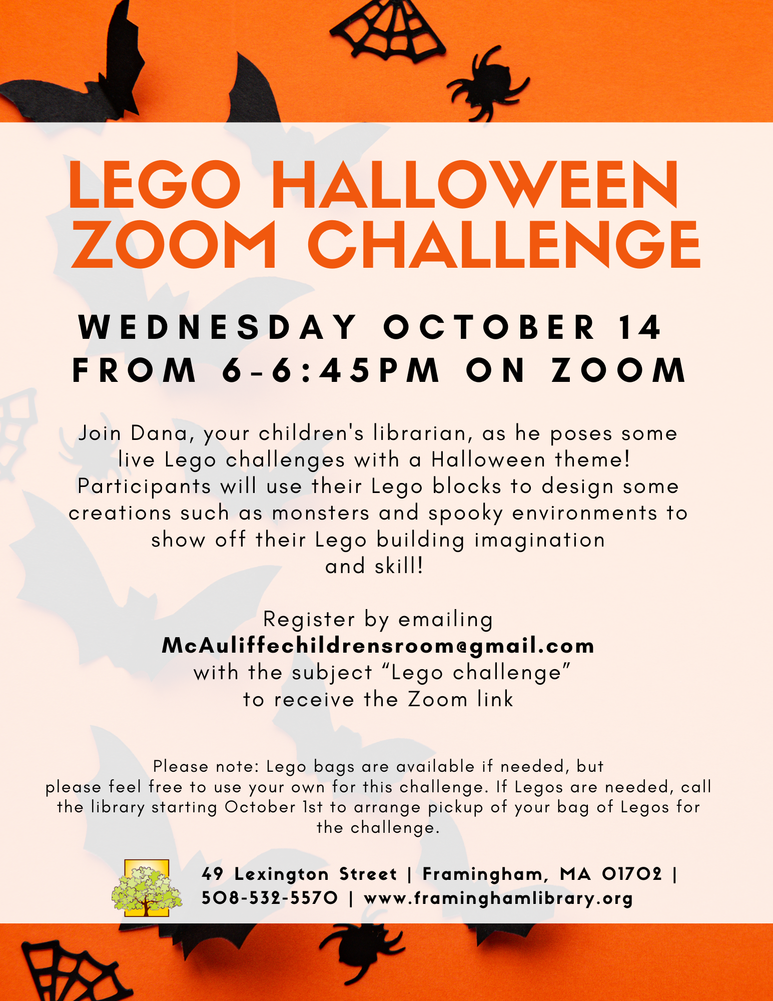 Lego Halloween Zoom Challenge thumbnail Photo