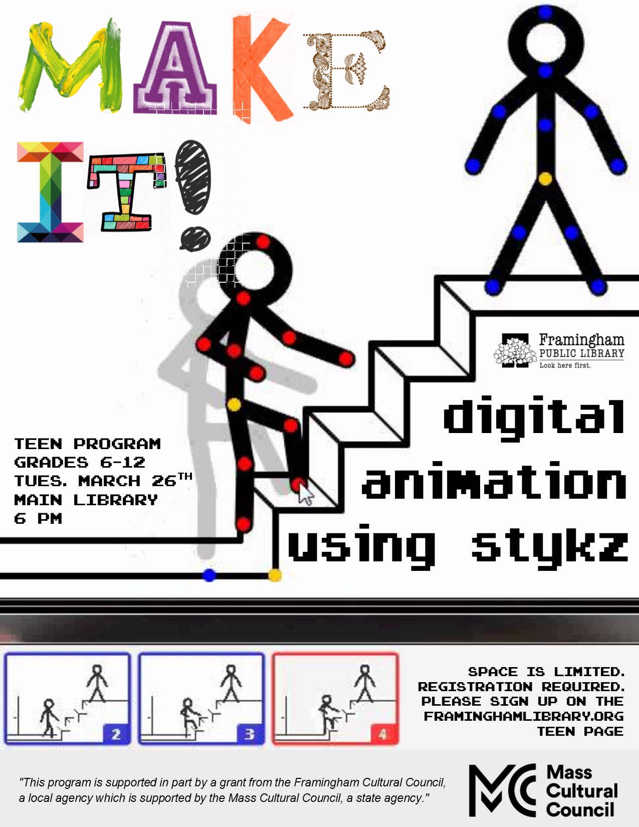 Make It! Digital Animation - REGISTRATION REQUIRED thumbnail Photo
