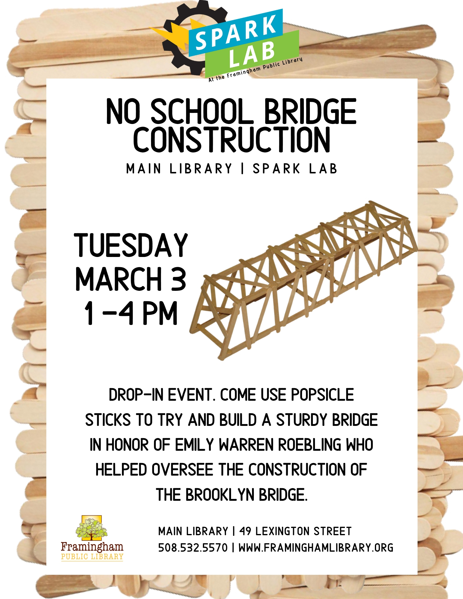 No School Bridge Construction thumbnail Photo
