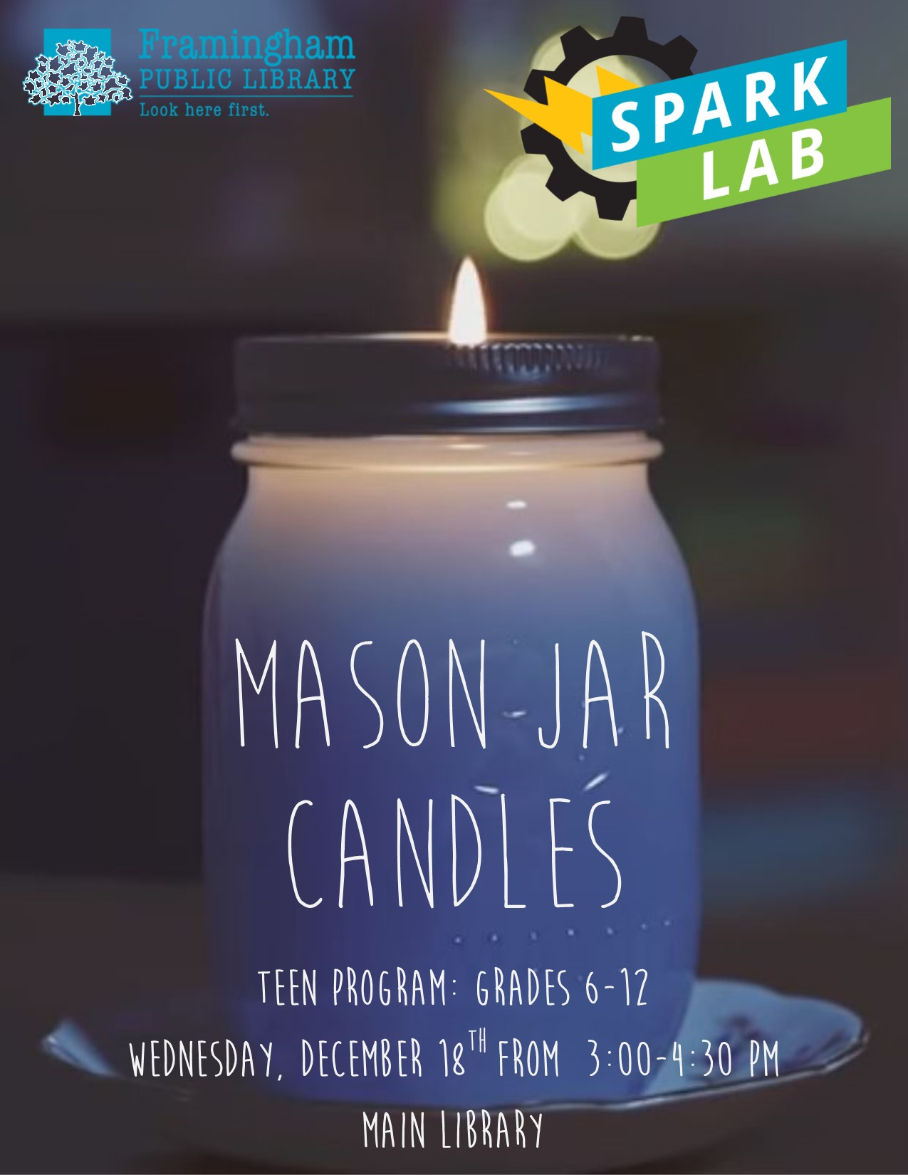 Spark Lab: Mason Jar Candles thumbnail Photo