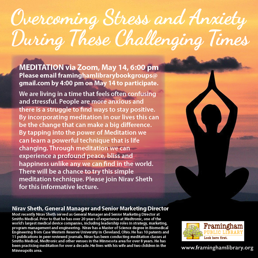 Overcoming Stress and Anxiety poster