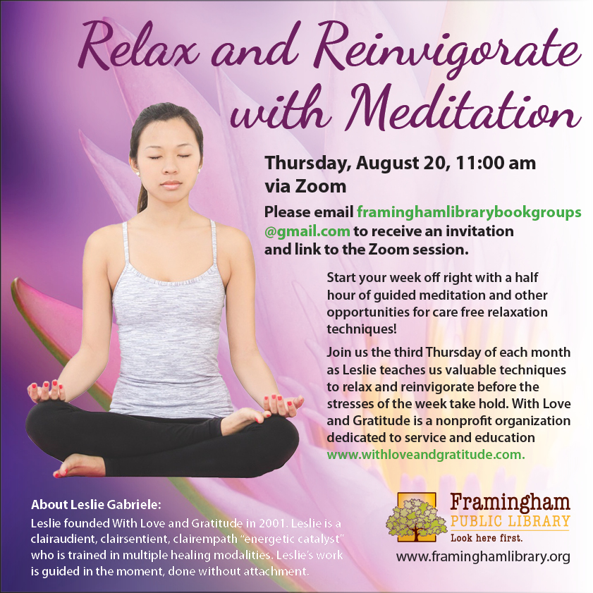 Relax and Reinvigorate with Meditation thumbnail Photo