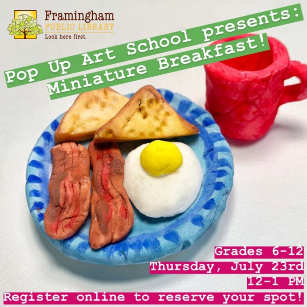 Pop Up Art School: Miniature Breakfast (CLASS FULL, WAITLIST ONLY!) thumbnail Photo