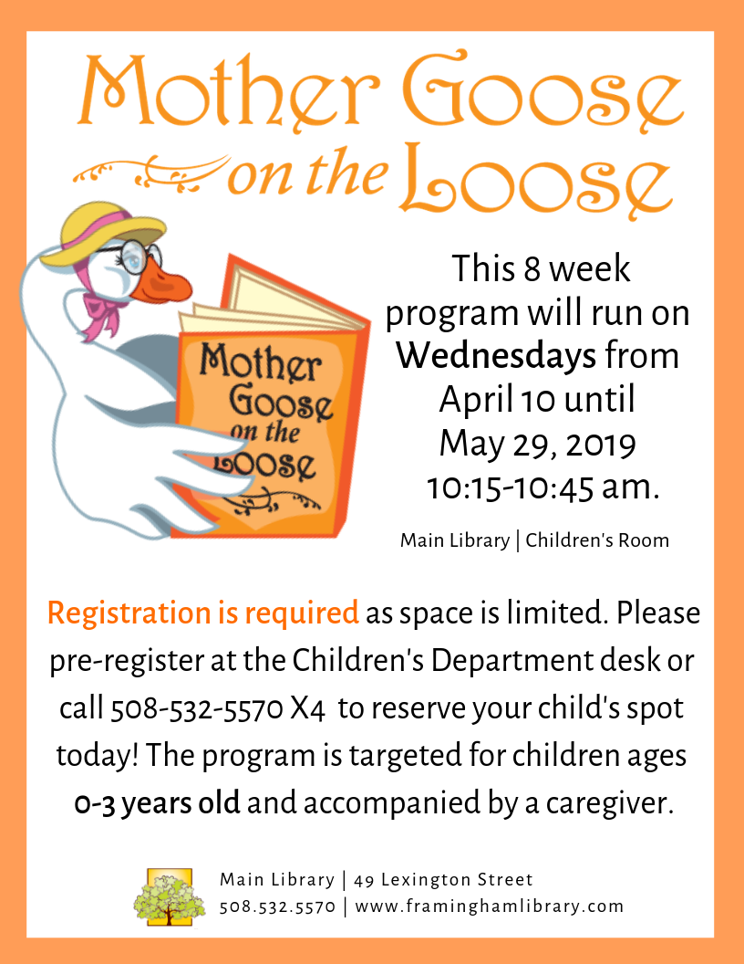Mother Goose Time Its A Small World February 2020 Calendar Events Calendar | Framingham Public Library