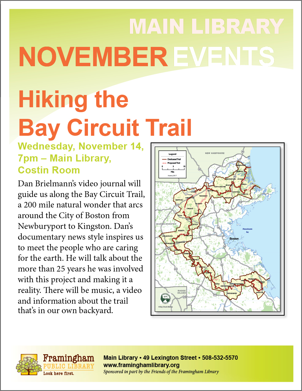 Hiking the Bay Circuit Trail thumbnail Photo
