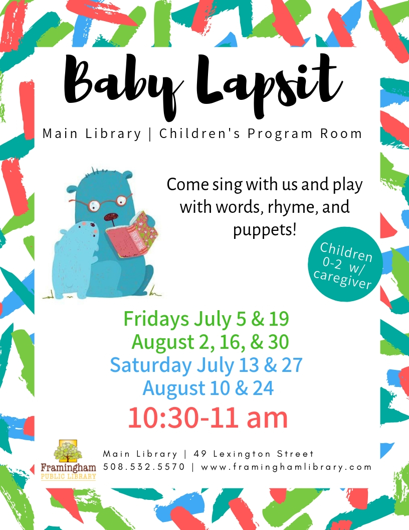 Baby Lapsit at the Main Library thumbnail Photo