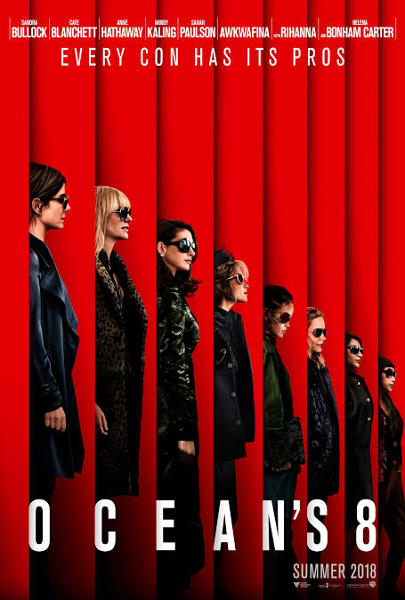 Wednesday Night Movie: Ocean's 8 thumbnail Photo