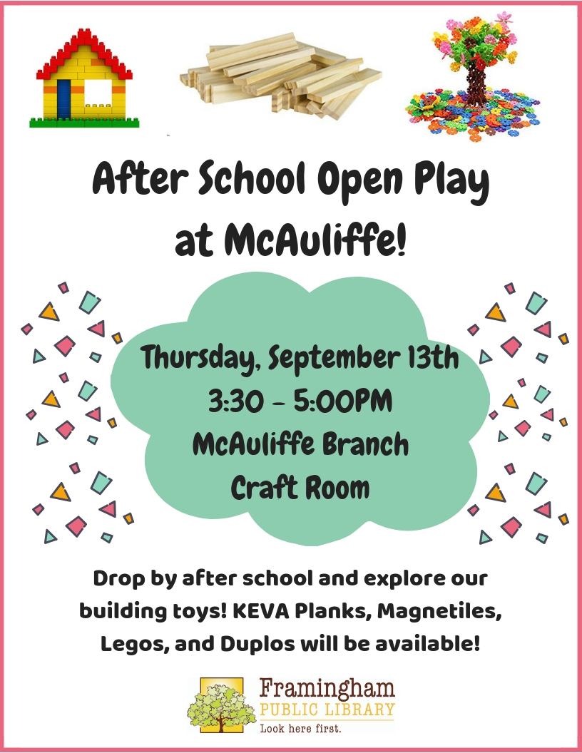 After School Open Play at McAuliffe thumbnail Photo