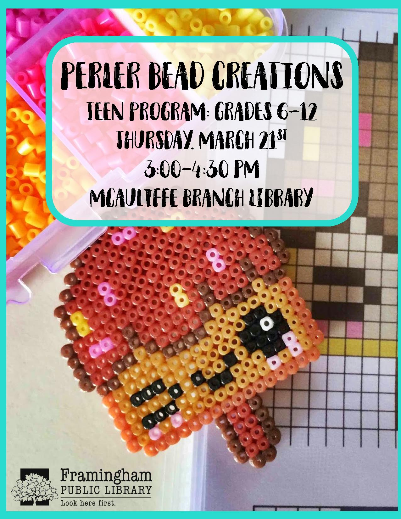 Perler Bead Creations thumbnail Photo