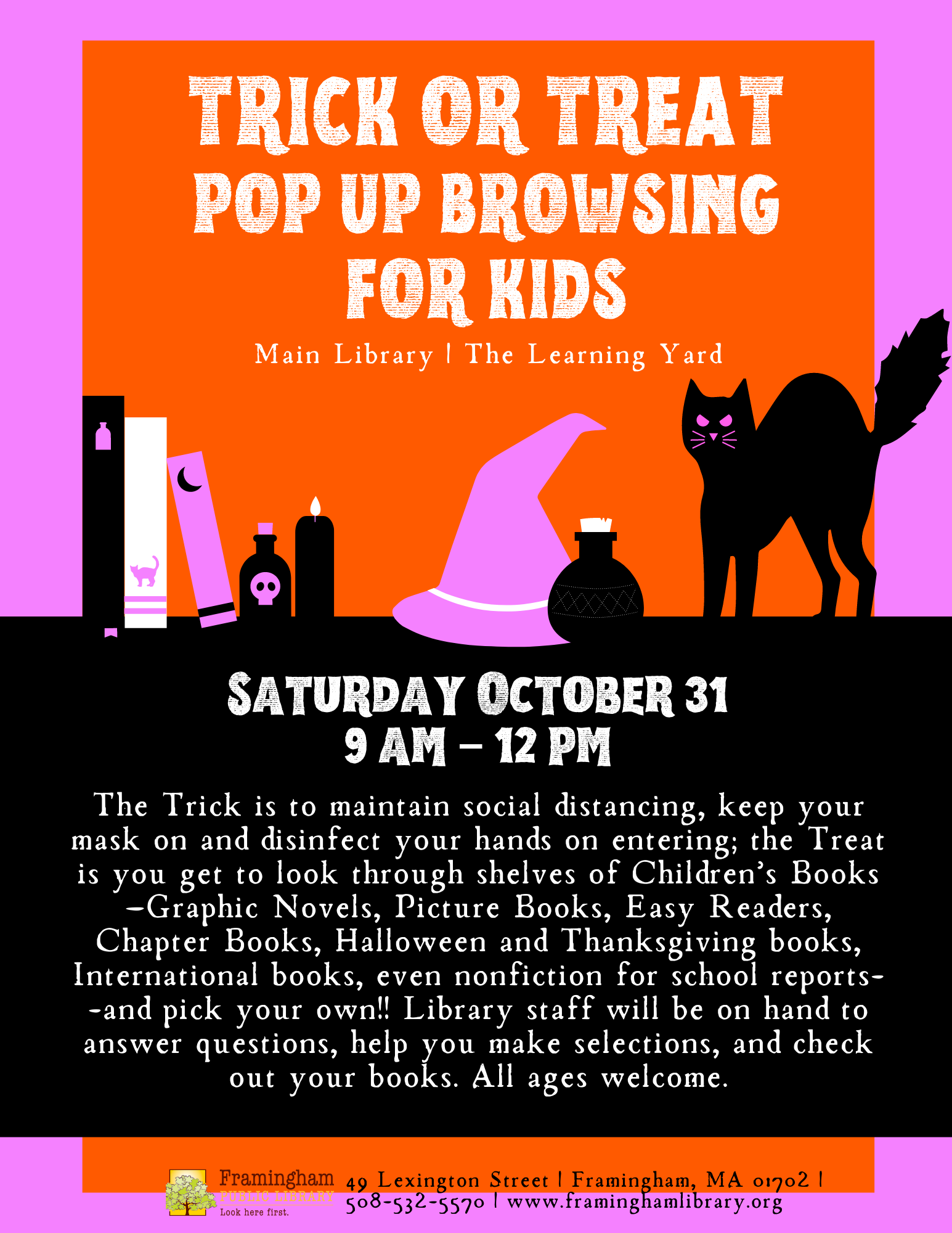 Trick or Treat Pop Up Browsing for Kids (All Ages) thumbnail Photo