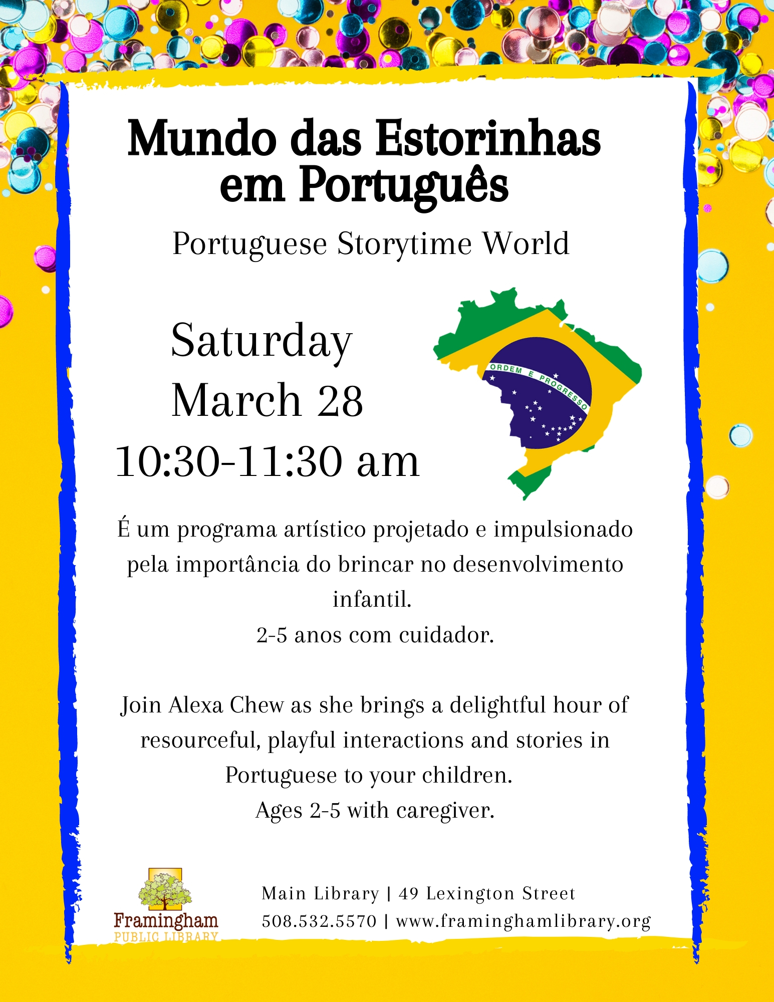 Portuguese Story Time World/ Mundo das Estorinhas em Português thumbnail Photo