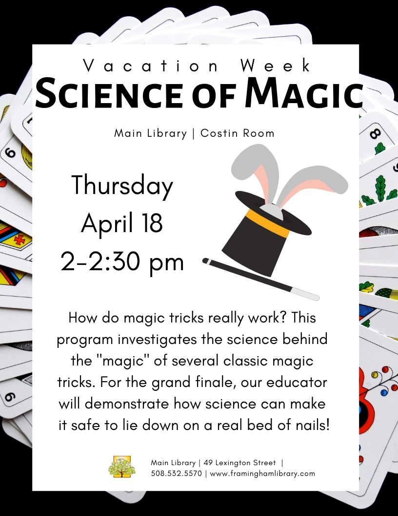 Vacation Week: Science of Magic thumbnail Photo