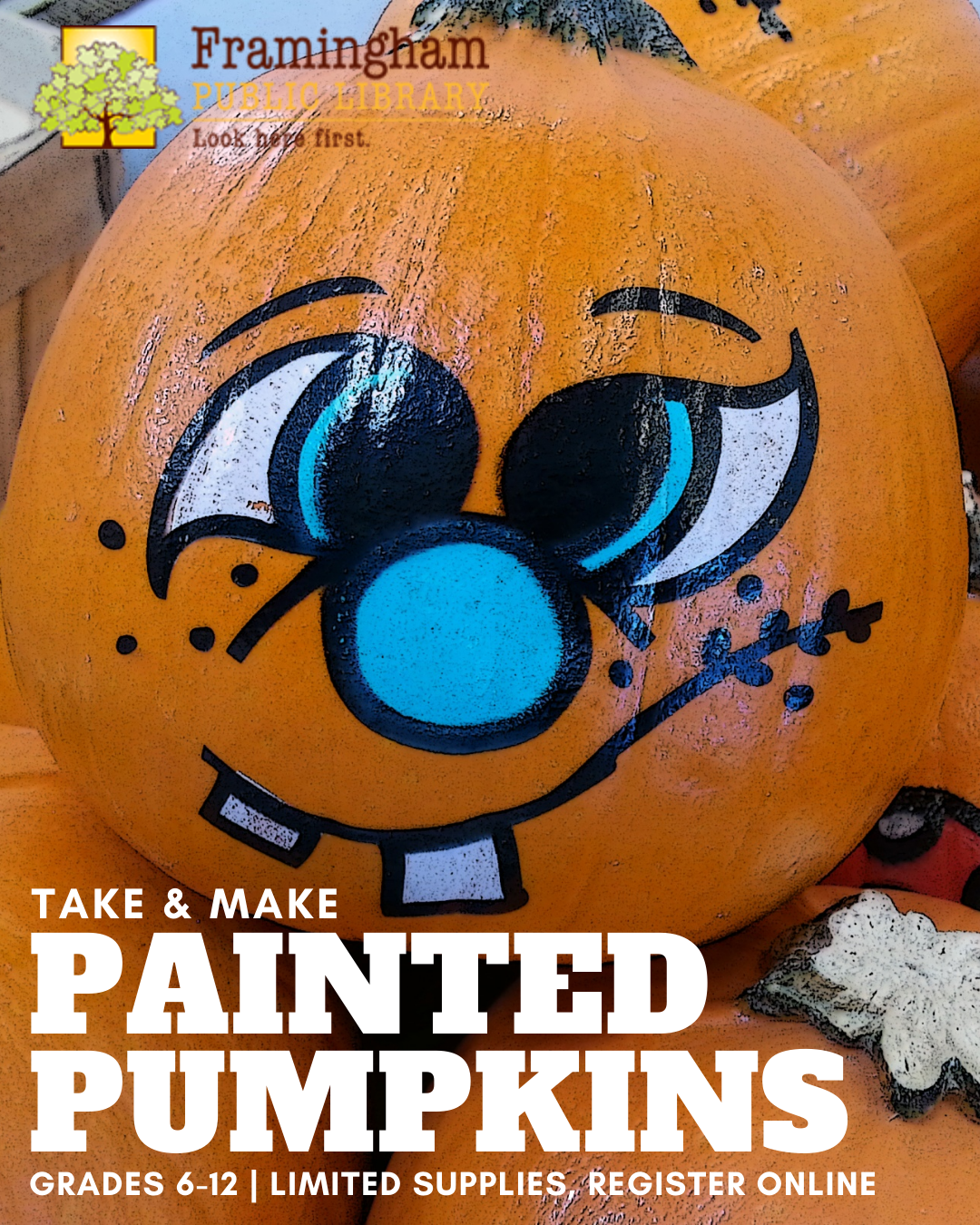 Painted Pumpkin Take & Make Craft thumbnail Photo