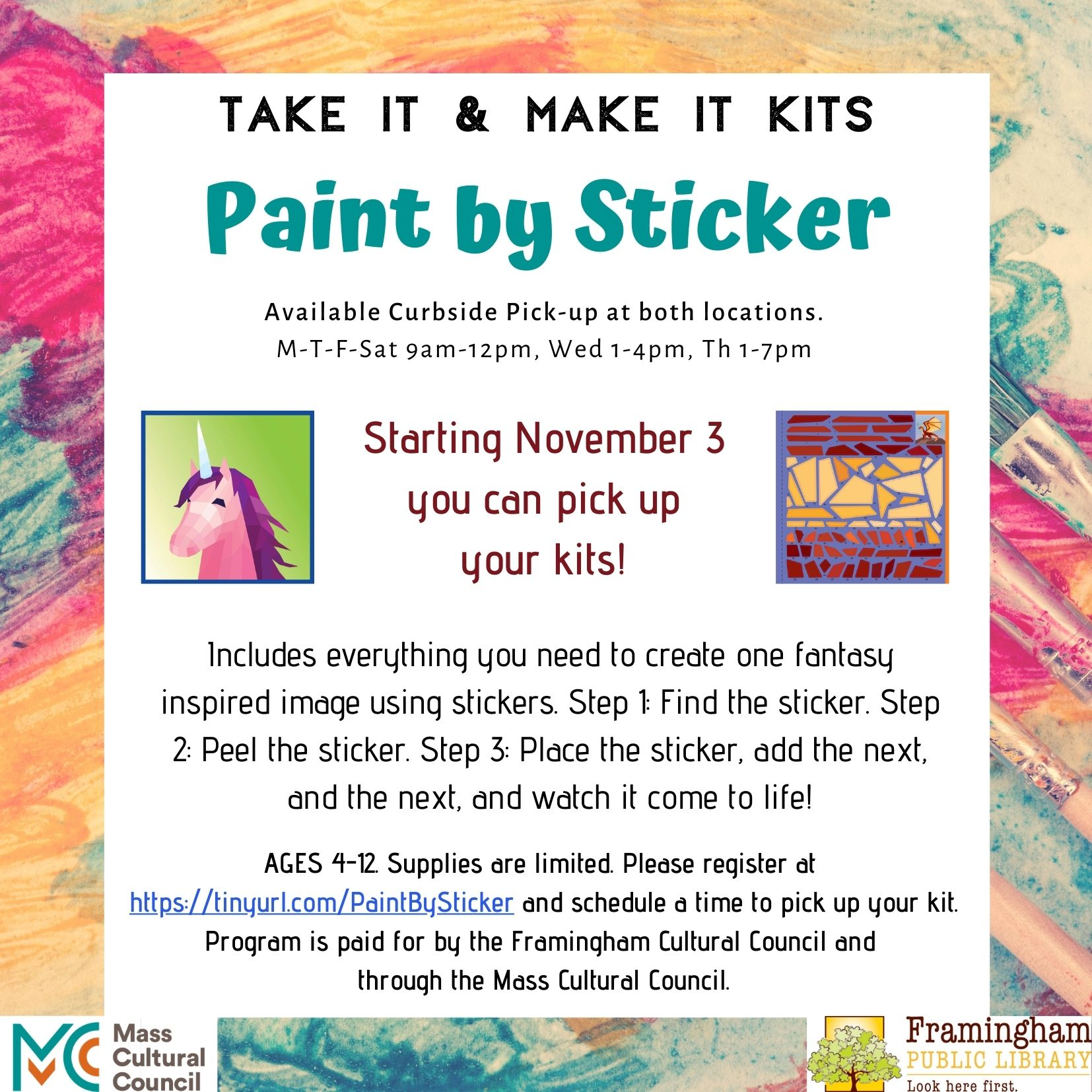 Take and Make Kit: Paint By Sticker thumbnail Photo