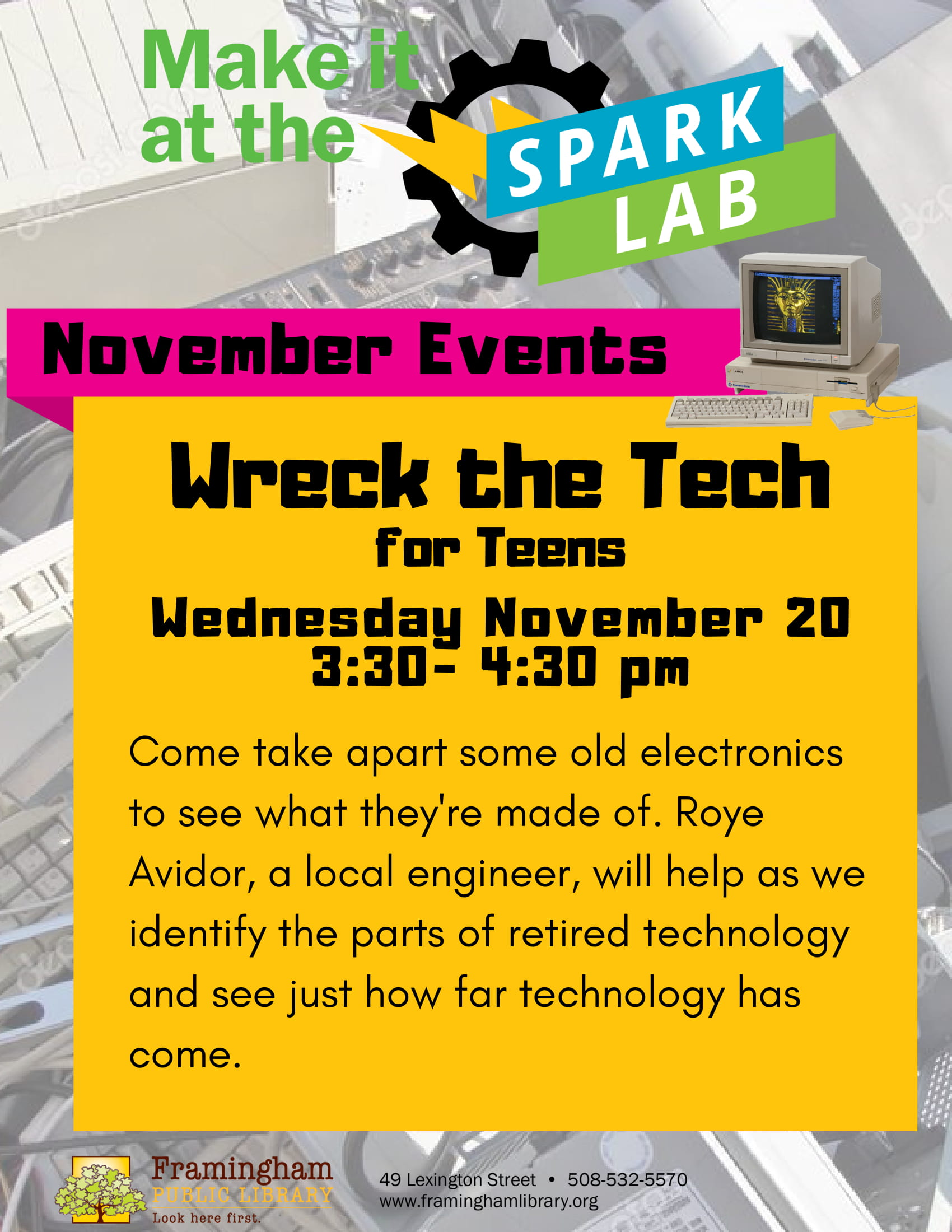 Spark Lab: Wreck the Tech thumbnail Photo