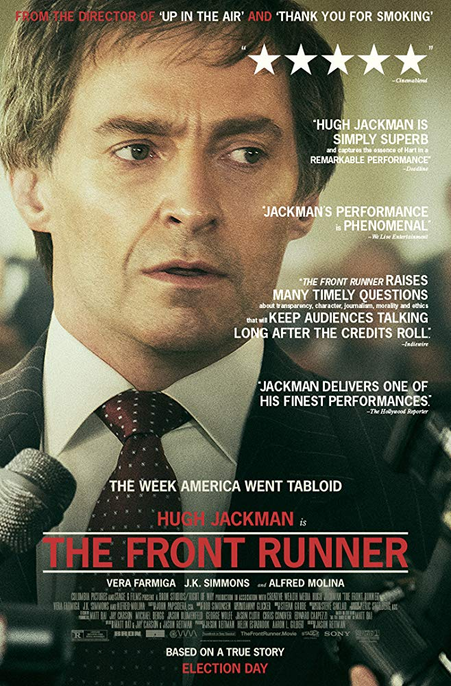 Wednesday Night Movie: The Front Runner thumbnail Photo