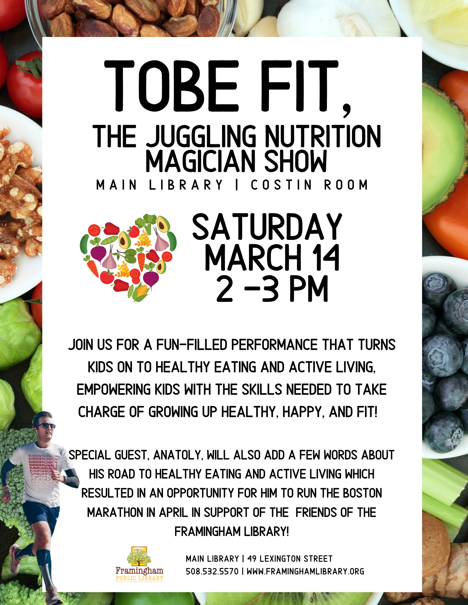 ToBe Fit, the Juggling Nutrition Magician Show thumbnail Photo