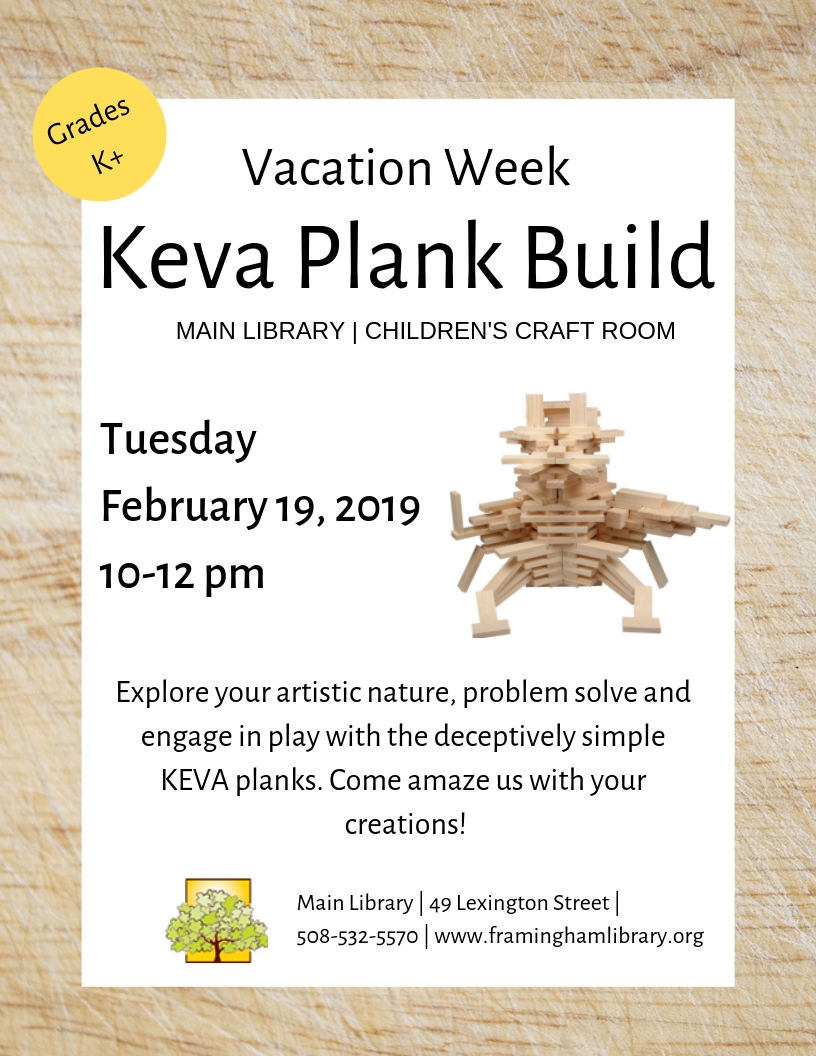 Vacation Week Keva Plank Build thumbnail Photo