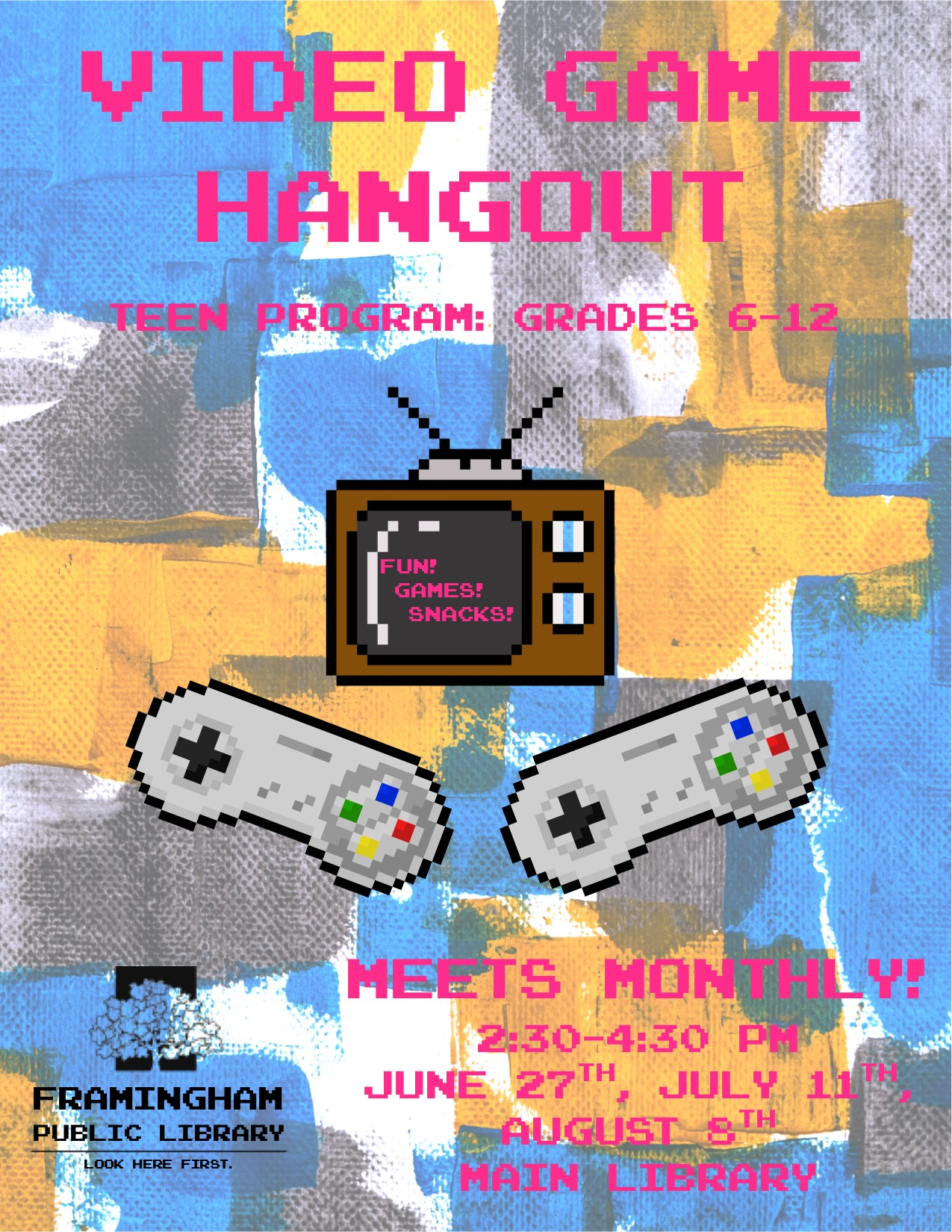Video Game Hangout August thumbnail Photo