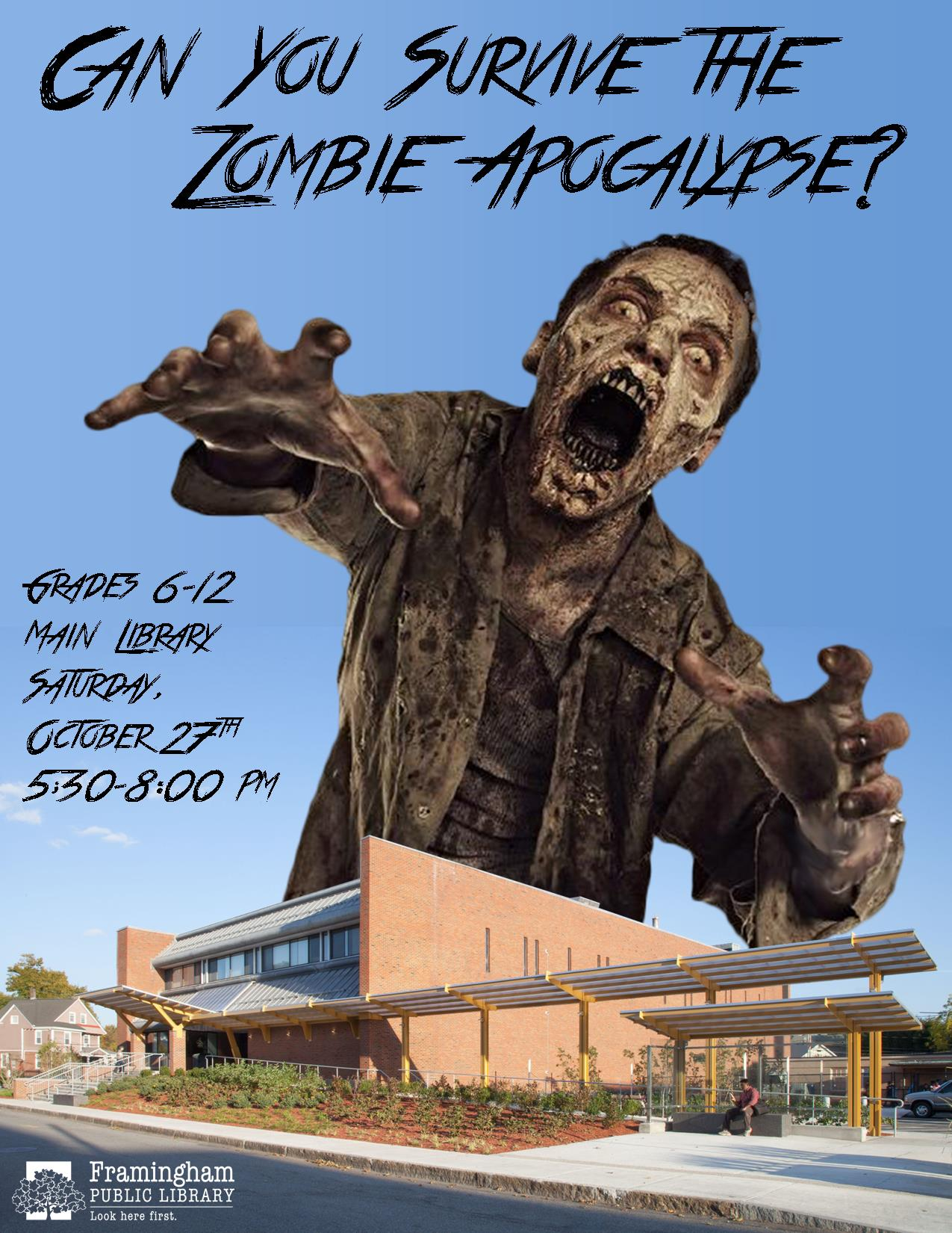 Can You Survive the Zombie Apocalypse?! - After Hours Program thumbnail Photo