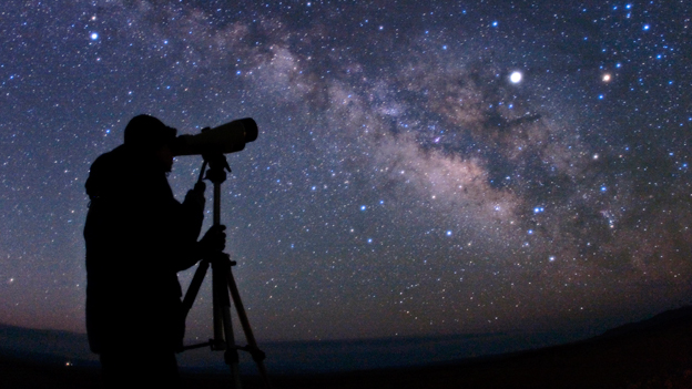 Telescope Time: Winter Sky thumbnail Photo