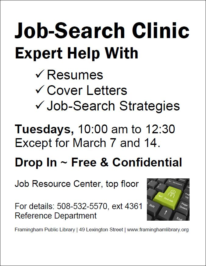 Drop in Resume Help