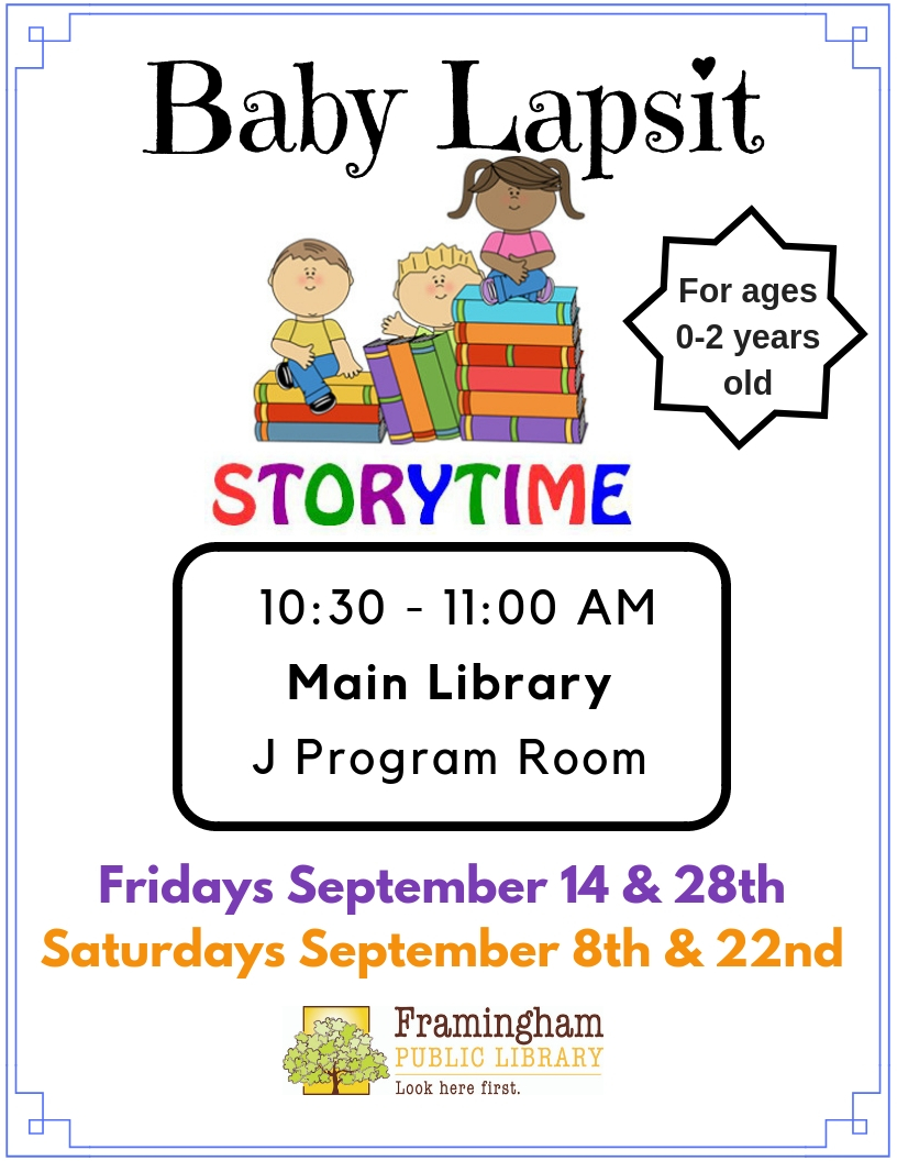 Drop-In Baby Lapsit at the Main Library thumbnail Photo