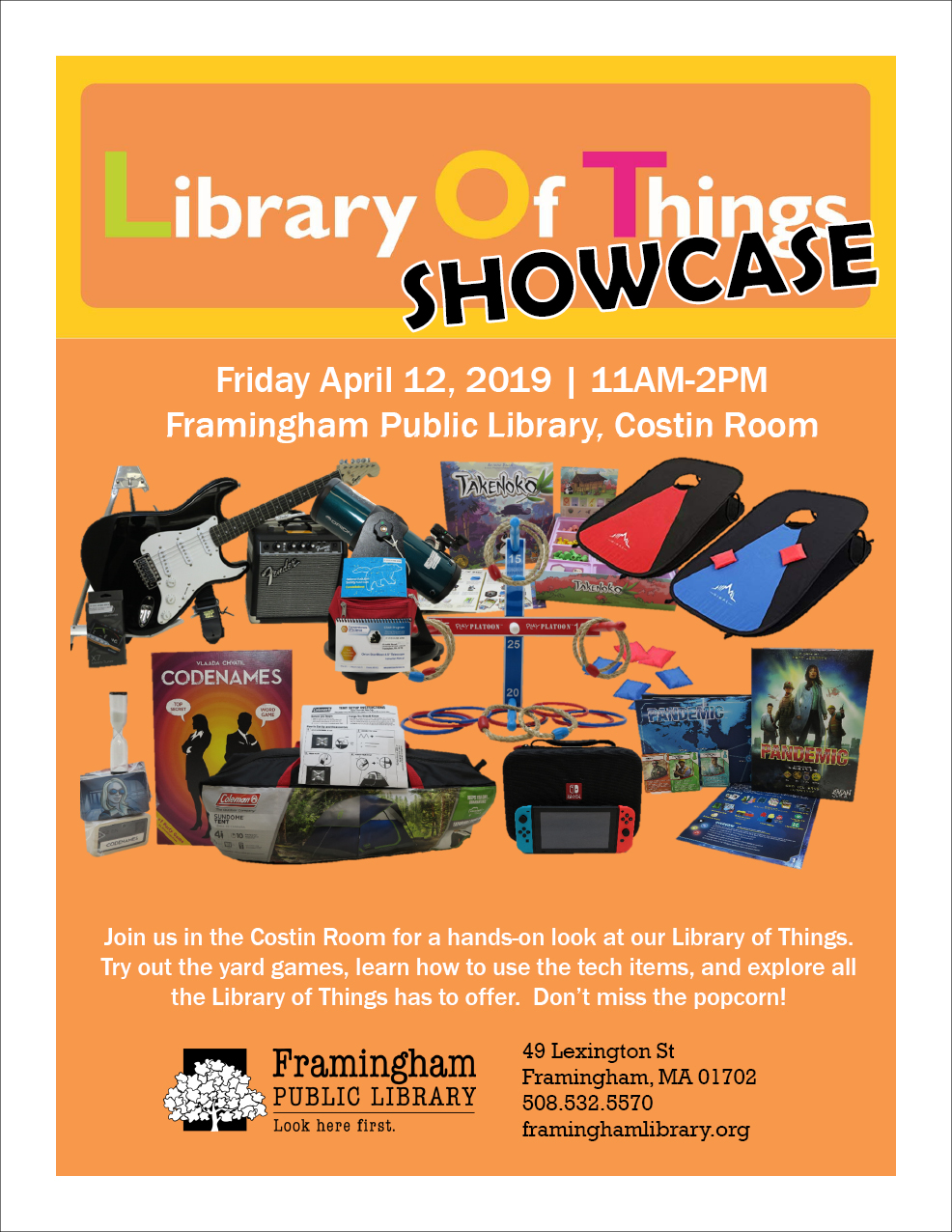 Library of Things Showcase thumbnail Photo