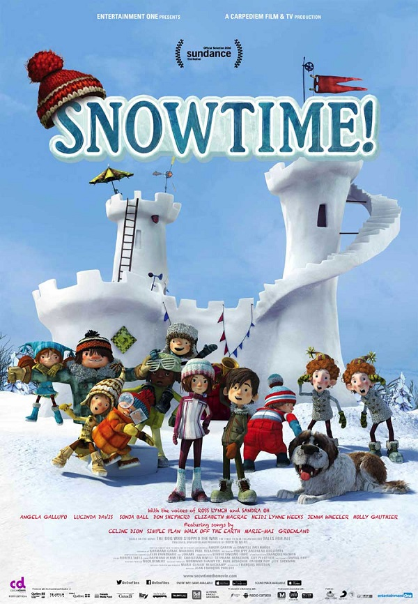 Vacation Week Movie at McAuliffe: Snowtime! thumbnail Photo