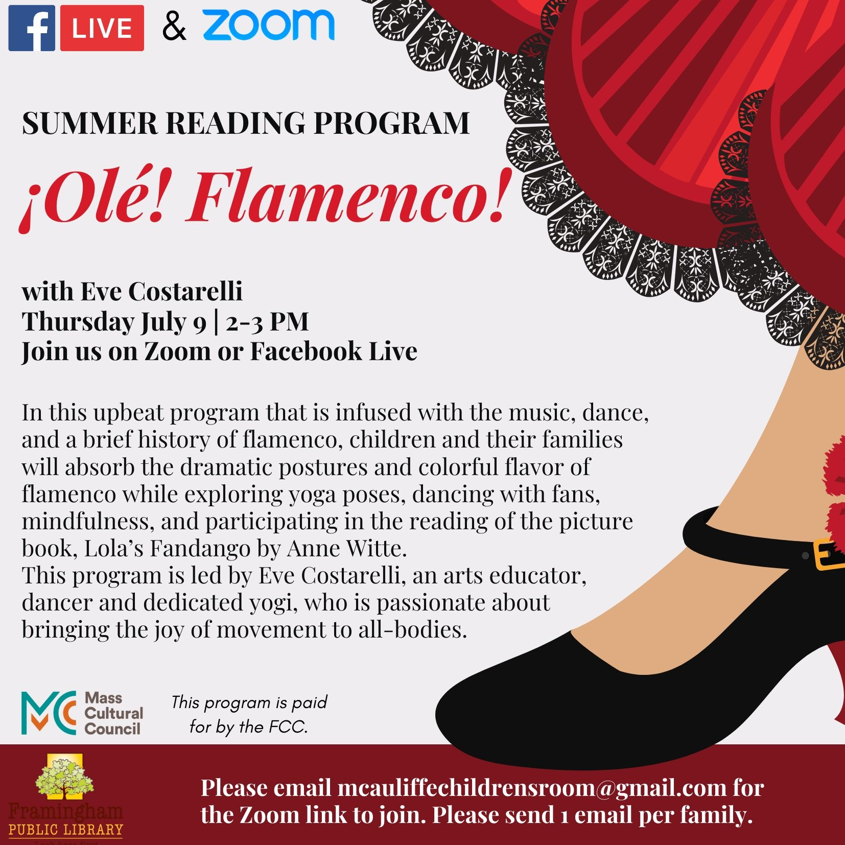 ¡Olé! Flamenco with Eve Costarelli thumbnail Photo