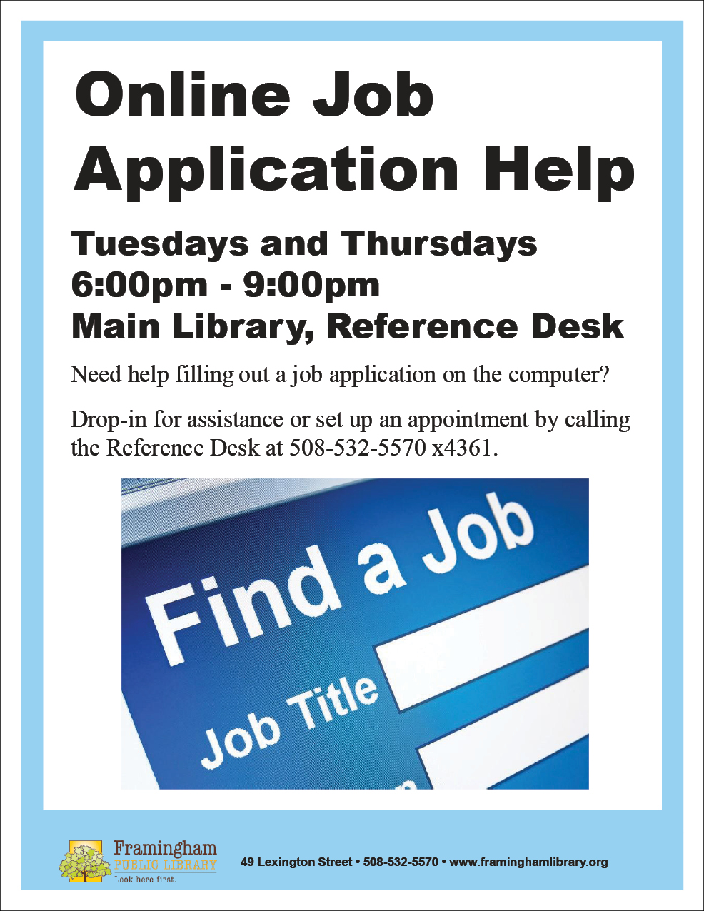 online job application help services framingham public library online job help jpg