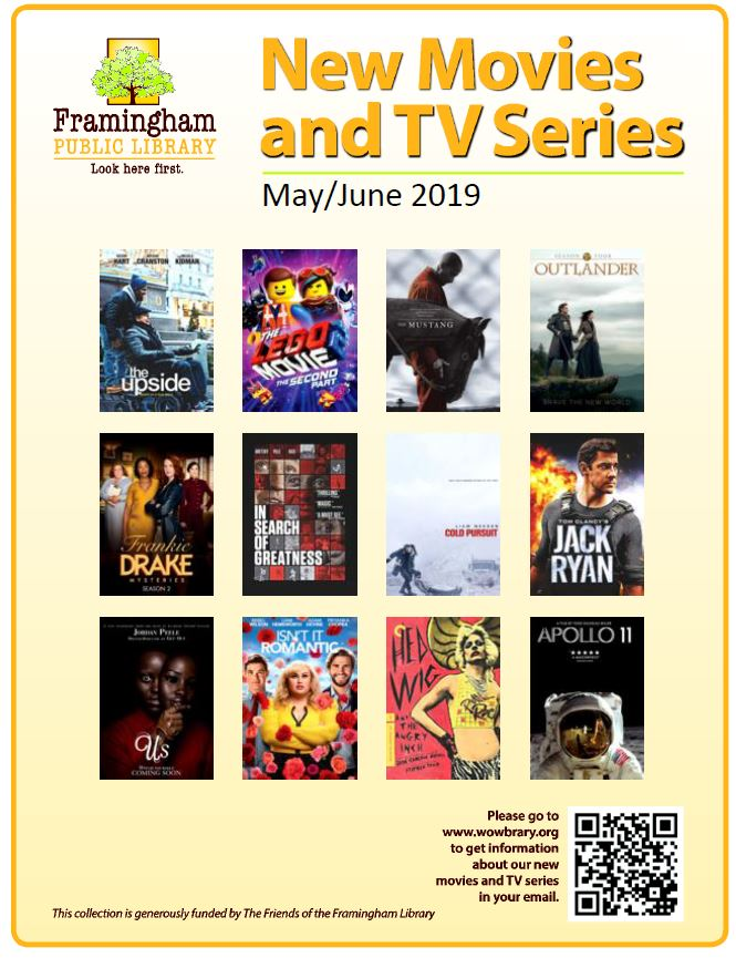 New movies and tv series May and June 2019